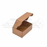 Коробка картонная 24х17х10 (см) 1 кг. бурая. Коробки для Новой почты 240 х 170 х 100 мм.