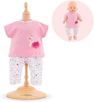 Набір одягу для ляльки блуза і брюки Corolle Королівський лебідь 36 см 9000140620