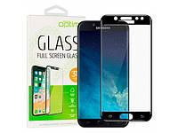 Защитное стекло Optima 3D Samsung A205 (A20) Black на экран телефона.