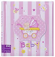 Фотоальбом EVG 30sheet S29x32 Baby car pink  КОД: 30sheet S29x32 Baby car pink