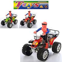 Квадроцикл 6688BB инерционный, 18 см, фигурка, 3 цвета