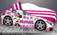 Кровать машина Минни Маус Элит от 1500х700, фото 1