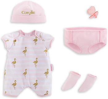 Набір одягу для ляльки новонародженого Corolle Фламінго 36 см 9000140550