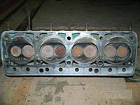 Головка блока цилиндров ГБЦ в сборе на 402 двигатель Газель среднее состояние