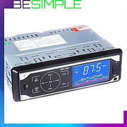 Автомагнітола MP3 3881 ISO, 1DIN з сенсорним дисплеєм