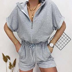 Женский летний комбинезон с шортами