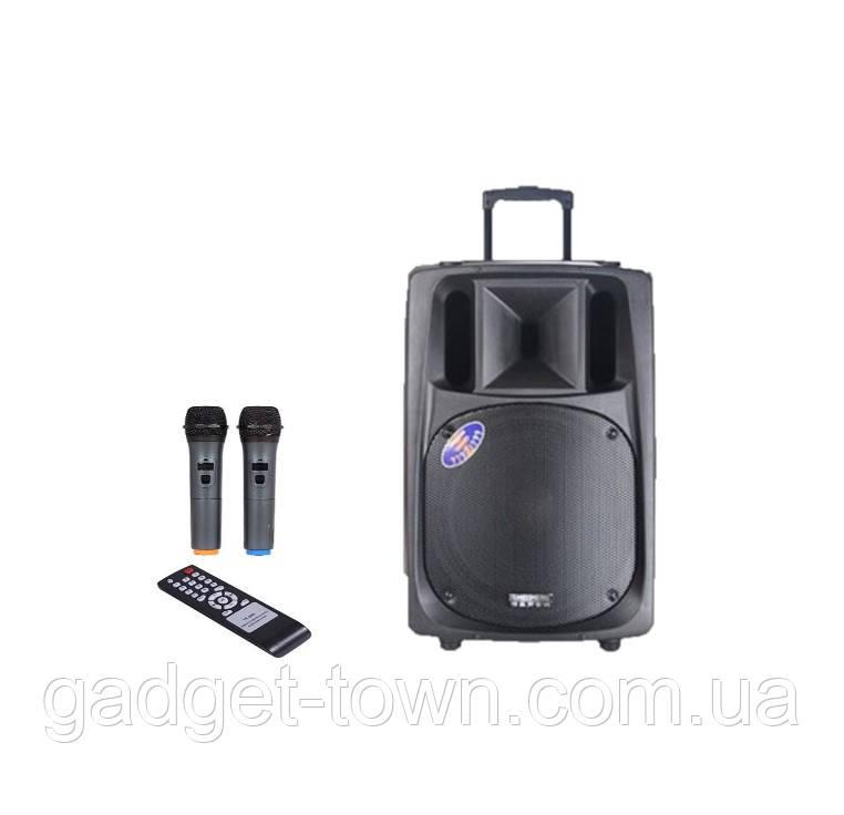 Потужна акумуляторна акустика Temeisheng TMS SL-16 (USB-BT-2MIC-600W)