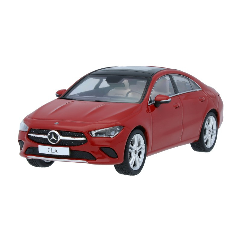 Модель Mercedes-Benz CLA Coupé C118, Scale 1:43, Red, артикул B66960471