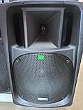 Потужна акумуляторна акустика Temeisheng TMS SL-16 (USB-BT-2MIC-600W), фото 2