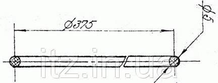 Кольцо уплотнительное 30Д78.19.5 (Д217.00.18)