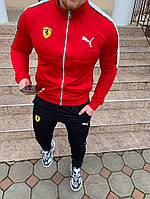 Мужской спортивный костюм Puma Ferrari красный