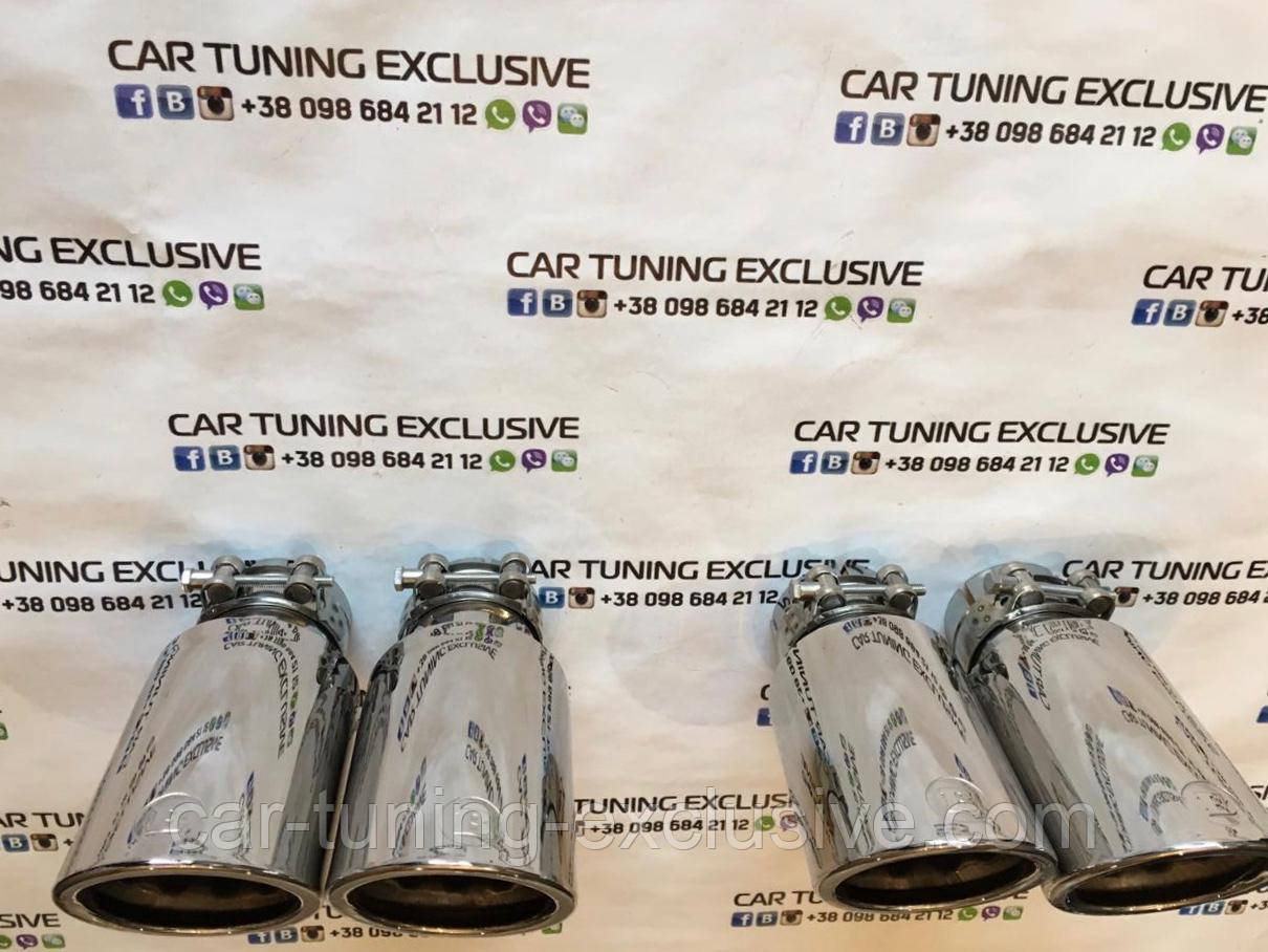BRABUS sports exhaust tips for Mercedes X-class W470