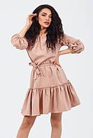 Вишукане жіноче плаття Raily, бежевий