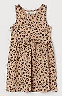 "Платье сарафан H&M ""Леопарды"" для девочек 2-4"