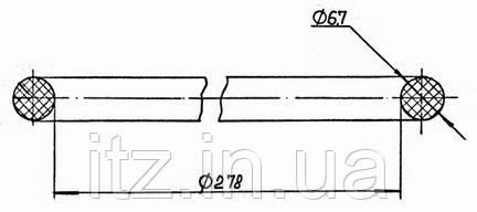 Кольцо под гильзу второе верхнее 30Д36.08.10 (Д217.00.74)