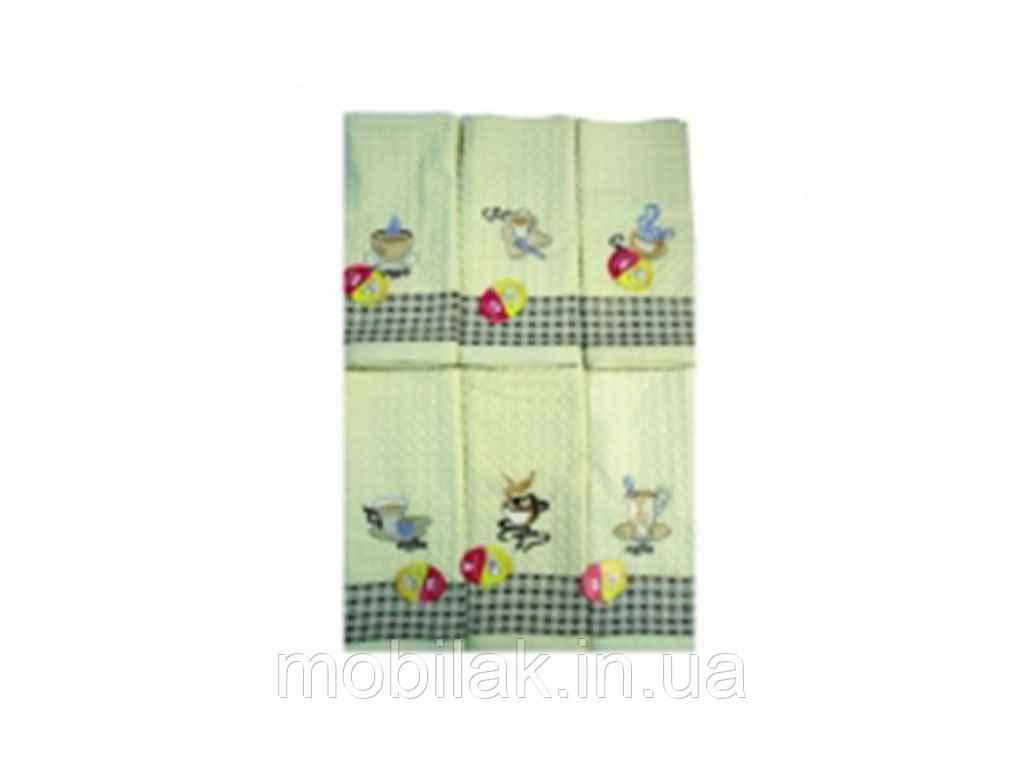 Кухонні рушники льон Кава 40*60 арт.107 ТМКИТАЙ