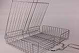 Решетка для гриля и барбекю 56х31х24х5.5 см, фото 5