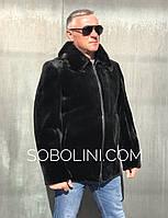 Чоловіча куртка з бобра в наявності, фото 1