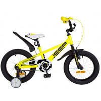 """Детский велосипед Formula 16"""" JEEP рама-8,5"""" 2019 желтый (OPS-FRK-16-070)"""