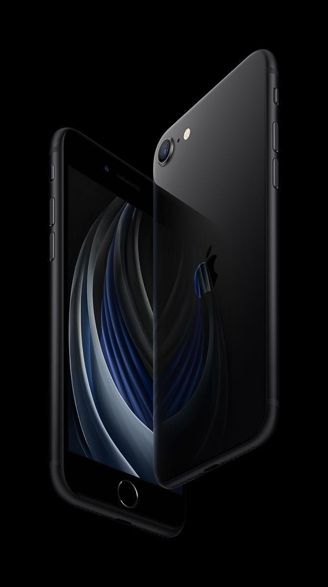 """Смартфон Apple iPhone SE 128GB Black, 4.7"""" IPS, Apple A13 Bionic, NFC"""