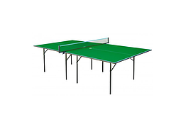 Теннисный стол для помещений GSI-Sport Hobby Light Green Gp-1/ Blue Gk-1