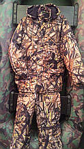 "Костюм зимний (длинная куртка) ""Сухой камыш"", ткань алова. рр 50"