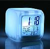 Часы ночник хамелеон COLOR CHANGE CLOCK