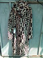 Мужские халаты банные махровые с капюшоном, размеры M L XL XXL до 52 размера