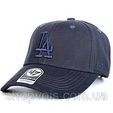 Кепка 47 Brand Los Angeles M516 Бейсболка Темно-Синяя (реплика)