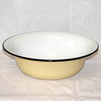 Миска эмалированная, таз на 3-4 л размер 32 х 10 см
