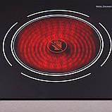 Інфрачервона керамічна плита Lexical на 2 конфорки, фото 3