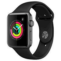 Смарт-часы Apple Watch Series 3 GPS, 42mm Space Grey Aluminium Case with Blac (MTF32GK/A)