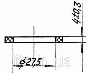 Кольцо 6Д49.169.85 силикон