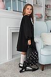 Детское школьное платье итальянский трикотаж школьная форма для девочки размер: 128,134,140,146, фото 6