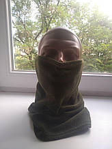 Военный теплый бафф/горловик (олива)