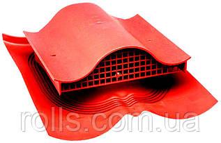 Вентиль кровельный DECRA - KTV Вентиль покрівельний VILPE Красный