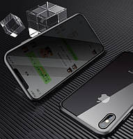 Magnetic case Full Glass 360 (магнітний чохол) ANTI SPY Анти-шпигун для Samsung Galaxy Note 10 Plus