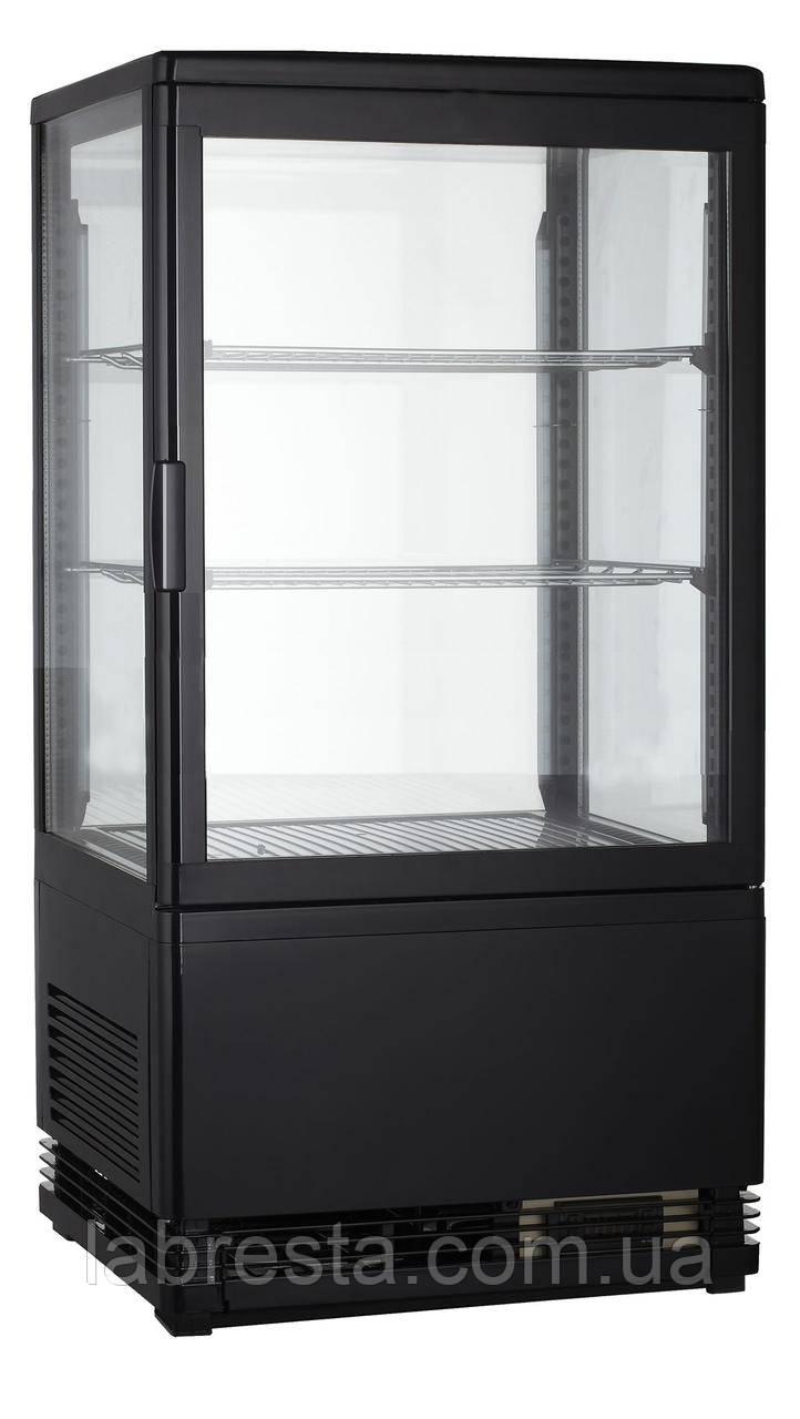 Шкаф-витрина холодильная GoodFood RT58L черная