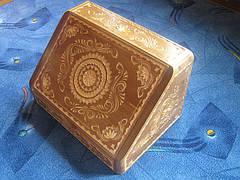 Хлебница из дерева ручной работы, фото 2