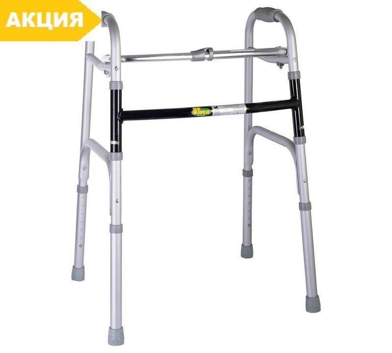 Ходунки универсальные B4070, NOVA  складные медицинские алюминиевые для инвалидов, взрослых (пожилых)