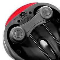 Cедло для велосипеда West Biking 0801083 Black + Blue стоп-фонарь, фото 3