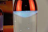 Светильник, ночник Лампа Торнадо красная 27 см, фото 4