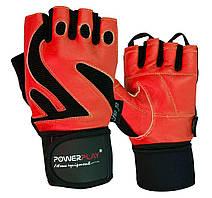 Рукавички для фітнесу PowerPlay 1064 E Червоні S
