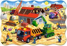 Пазлы ''Строительство дома'' Castorland 20 maxi элементов