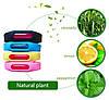 Силиконовый браслет ремешок от комаров и насекомых с капсулой (Разные цвета), фото 3