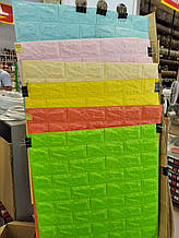 Панель стінова 3D Sticker Wall Wall Sticker самоклеюча 70х77 см