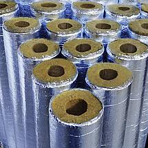 Утеплитель для труб Ø 32/50 из минеральной ваты (базальтового волокна), фольгированный, фото 3
