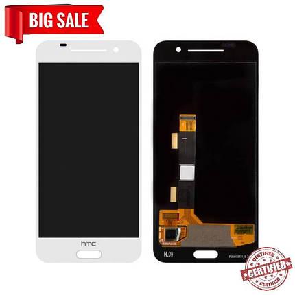 Модуль (дисплей+сенсор) для HTC One A9 білий, фото 2