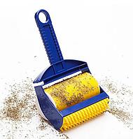 Липкий валик для уборки дома Sticky Buddy Силиконовый валик щетка для чистки одежды