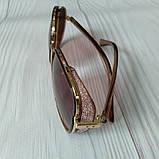 Модные женские очки солнцезащитные с шорами, фото 3